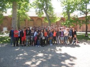 15 maggio  nel cortile della sede del Parco delle Lame del Sesia