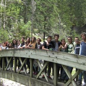 L'Ist. Galilei di Avigliana in visita al Parc Naturel Régional deChartreuse